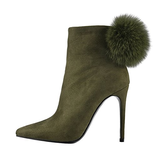 UMEXI-Pointed-Toe-Ankle-High-Boots-Suede-High-Heel-Pumps-Party-Wedding-Stilettos-for-Women-0