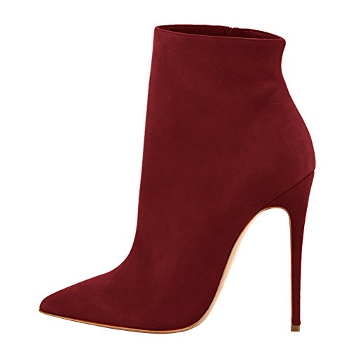 UMEXI-Pointed-Toe-Ankle-Strap-Boots-Stiletto-High-Heels-Side-Zipper-Party-Dress-Shoes-for-Wedding-0-0