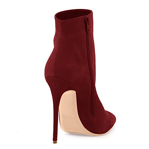 UMEXI-Pointed-Toe-Ankle-Strap-Boots-Stiletto-High-Heels-Side-Zipper-Party-Dress-Shoes-for-Wedding-0-2