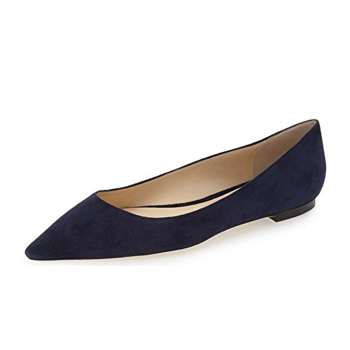 UMEXI-Pointed-Toe-Classic-Ballet-Flats-Suede-Slip-On-Big-Size-Walking-Shoes-for-Women-0-0