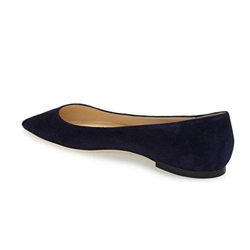 UMEXI-Pointed-Toe-Classic-Ballet-Flats-Suede-Slip-On-Big-Size-Walking-Shoes-for-Women-0-2