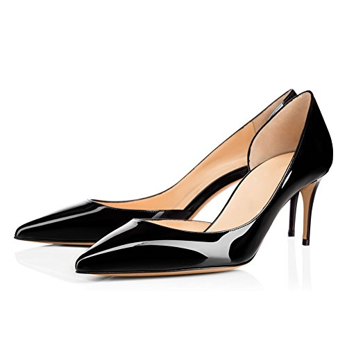 UMEXI-Pointed-Toe-Kittent-Heel-D-orsay-Sandals-Fashion-Pumps-Wedding-Dress-Shoes-for-Women-0