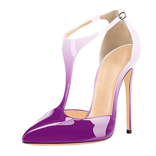 UMEXI-Pointed-Toe-T-Strap-High-Heels-Ankle-Strap-Sandals-Stilettos-Evening-Shoes-for-Women-0