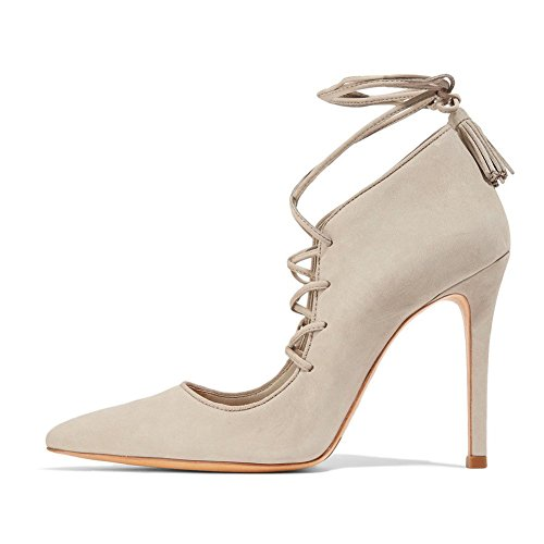 UMEXI-Pointede-Toe-Ankle-High-Boots-Lace-up-High-Heels-Party-Wedding-Dress-Stilettos-for-Women-0