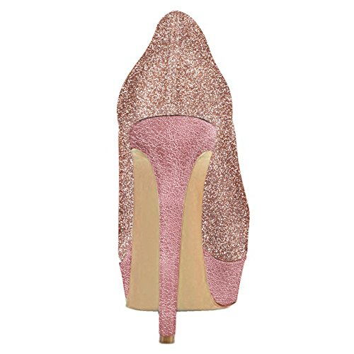 UMEXI-Round-Toe-Platform-Pumps-Stiletto-High-Heel-Slip-On-Party-Wedding-Dress-Shoes-for-Women-0-1