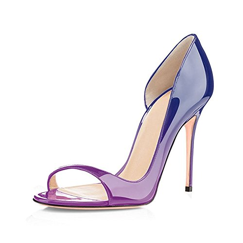 UMEXI-Women-Open-Toe-D-orsay-Sandals-Skinny-Heels-Stilettos-High-Heels-Party-Pumps-for-Wedding-0