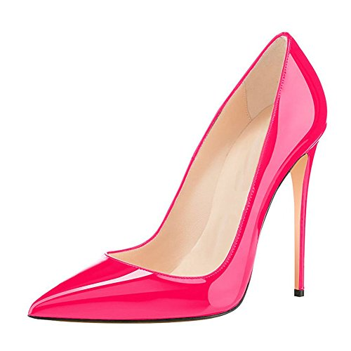 UMEXI-Women-Pointed-Toe-High-Heels-Slip-on-Stilettos-Wedding-Party-Dress-Shoes-Plus-Size-Pumps-0