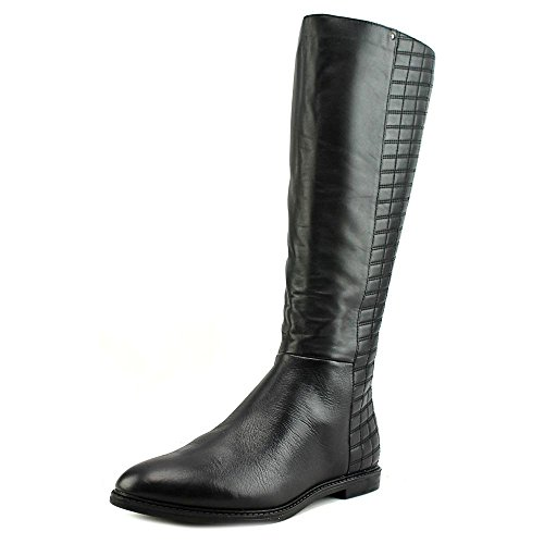 Calvin-Klein-Donnily-Wide-Calf-Women-US-5-Black-Mid-Calf-Boot-0