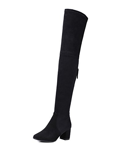 Guoar-Closed-toe-Square-Heel-Over-the-Knee-Thigh-High-Black-Microsuede-Stretch-Boots-us95-0