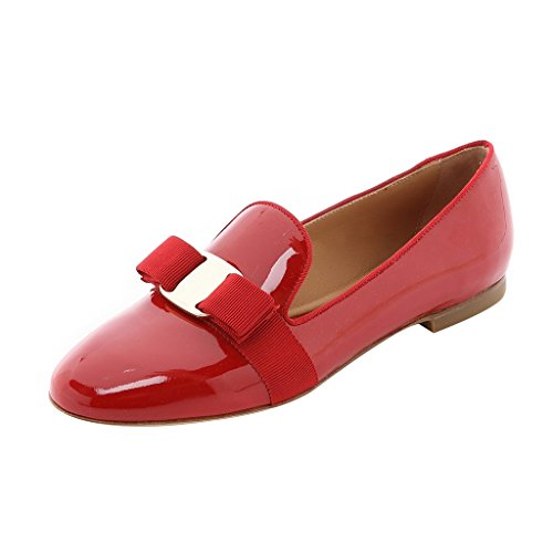 Guoar-Womens-Big-Size-Low-Heel-Pointed-Toe-PU-Patent-Ballet-Flat-Sandals-Pumps-for-Wedding-Party-Dress-Red-US10-0-0