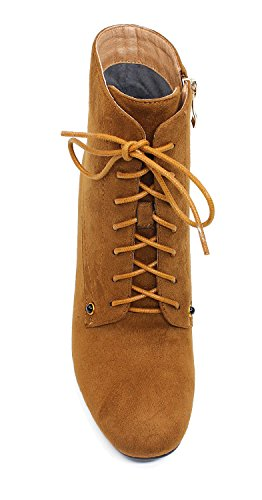 Guoar-Womens-Fashion-Block-Heels-Lace-Up-Ankle-Booties-Brown-us7-0-0