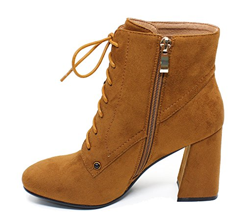 Guoar-Womens-Fashion-Block-Heels-Lace-Up-Ankle-Booties-Brown-us7-0-2