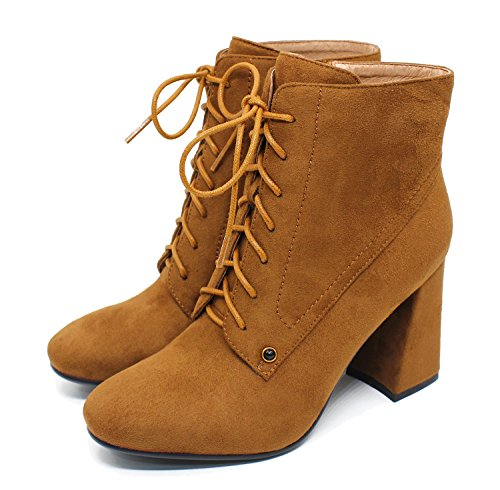 Guoar-Womens-Fashion-Block-Heels-Lace-Up-Ankle-Booties-Brown-us7-0-4