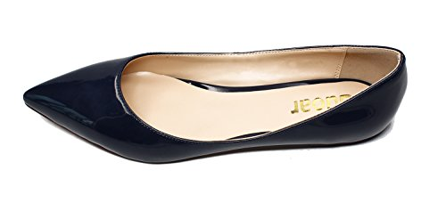 Guoar-Womens-Pointed-Toe-Big-Size-Shallow-Solid-Flats-Shoes-0-0
