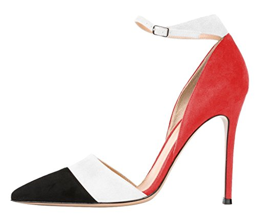 Guoar-Womens-Stiletto-Big-Size-Heel-Sandals-Pointed-Toe-Colourful-Patent-Pumps-for-Wedding-Party-Dress-0