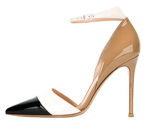 Guoar-Womens-Stiletto-Big-Size-Heel-Sandals-Pointed-Toe-Colourful-Patent-Pumps-for-Wedding-Party-Dress-Khaki-US9-0