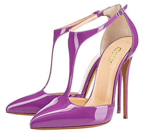 Guoar-Womens-Stiletto-Big-Size-Heel-Sandals-Pointed-Toe-Colourful-Patent-Pumps-for-Wedding-Party-Dress-Purple-US10-0-0