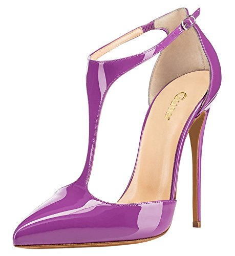 Guoar-Womens-Stiletto-Big-Size-Heel-Sandals-Pointed-Toe-Colourful-Patent-Pumps-for-Wedding-Party-Dress-Purple-US10-0-1