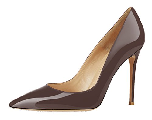 Guoar-Womens-Stiletto-Big-Size-Sandals-Solid-Shoes-Pointed-Toe-Ladies-Patent-Pumps-for-Wedding-Party-Dress-Brown-US-7-0-0