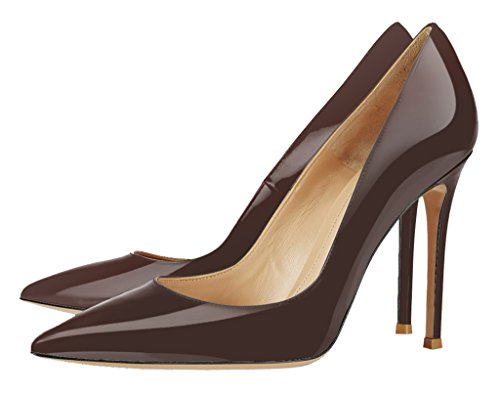 Guoar-Womens-Stiletto-Big-Size-Sandals-Solid-Shoes-Pointed-Toe-Ladies-Patent-Pumps-for-Wedding-Party-Dress-Brown-US-7-0-1