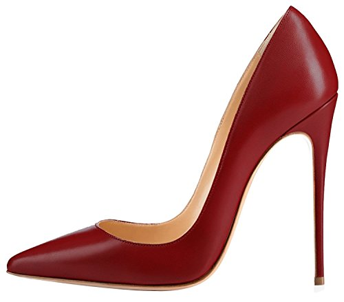 Guoar-Womens-Stiletto-Big-Size-Shoes-Pointed-Toe-Patent-Ladies-Solid-Pumps-For-Work-Place-Dress-Party-Red-Wine-US9-0