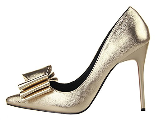 Guoar-Womens-Stiletto-Heel-Big-Size-Shoes-Pointed-Toe-DOrsayTwo-Piece-Bowtie-Pump-For-Wedding-Party-Dress-Gold-US13-0