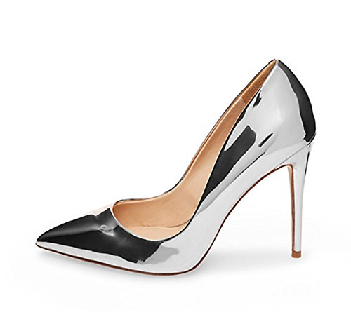 Guoar-Womens-Stiletto-Heel-Plus-Size-Solid-Shoes-Pointed-Toe-Patent-Pumps-For-Wedding-Party-Dress-Silver-US8-0