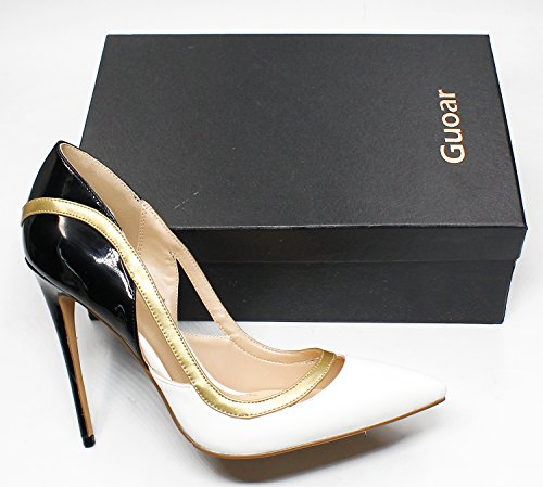 Guoar-Womens-Stiletto-Heel-Sandals-Big-Size-Shoes-Pointed-Toe-Cut-Out-Pumps-For-Wedding-Party-Dress-White-US65-0-5