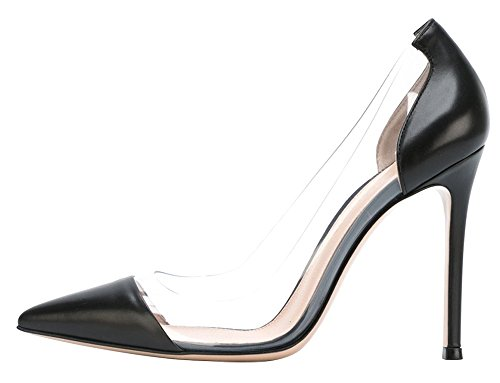Guoar-Womens-Stiletto-Heel-Sandals-Big-Size-Solid-Shoes-Pointed-Toe-PU-Pumps-for-Wedding-Party-Dress-Black-US75-0
