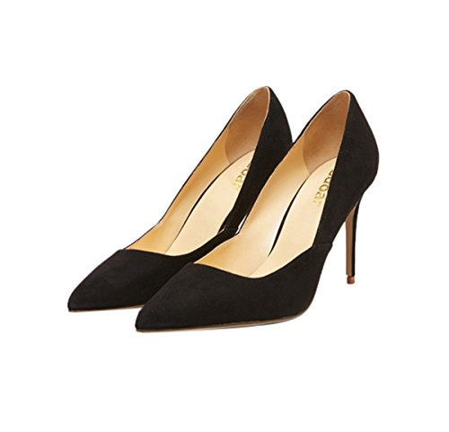 Guoar-womes-Stitching-Pointed-Toe-Stiletto-High-Heel-Pumps-shoes-0-0
