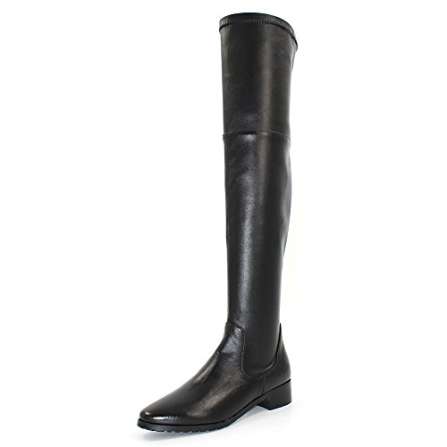 Modemoven-Womens-Black-Chunky-Heel-Snug-Stretch-Thigh-High-Boots-Over-the-Knee-Boots-Sexy-Flats-Boots-US75-0
