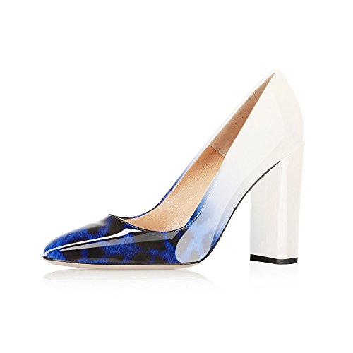 Modemoven-Womens-Leopard-Blue-Sexy-Patent-Leather-Round-Toe-Block-Heels-Pumps-Gorgeous-Evening-Party-Stiletto-Shoes-11-M-US-0