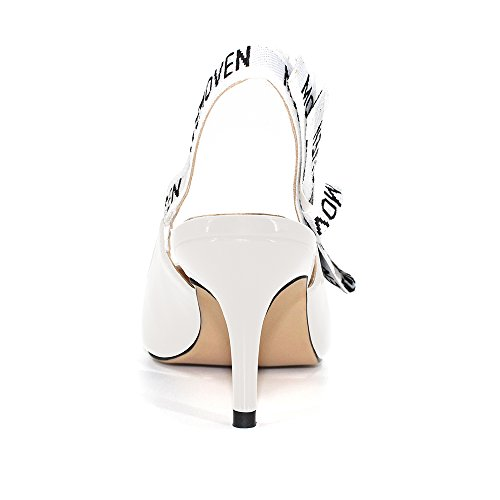 Modemoven-Womens-White-Patent-Leather-Pointed-Toe-Sling-Back-High-Heeled-Pumps-Embroidered-Ribbon-Shoes-65CM-Heel-75-M-US-0-1