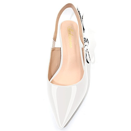 Modemoven-Womens-White-Patent-Leather-Pointed-Toe-Sling-Back-High-Heeled-Pumps-Embroidered-Ribbon-Shoes-65CM-Heel-75-M-US-0-3