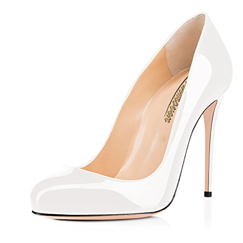 Modemoven-Womens-White-Plus-Size-Round-Toe-patent-leather-heels-Sexy-Stiletto-Heels-Evening-Part-Dress-Shoes-11-M-US-0