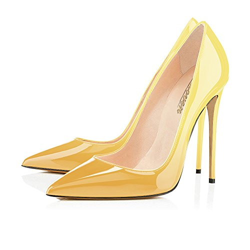 Modemoven-Womens-Yellow-Pointy-Toe-High-Heels-Slip-On-Stilettos-Large-Size-Wedding-Party-Evening-Pumps-Shoes-7-M-US-0-1