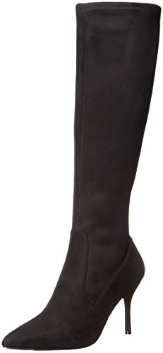 Nine-West-Womens-Calla-Fabric-Knee-High-Boot-Black-65-M-US-0