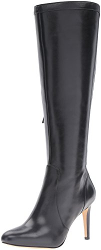 Nine-West-Womens-Holdtight-Leather-Knee-High-Boot-Black-55-M-US-0
