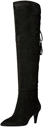 Nine-West-Womens-Josephine-Over-The-Knee-Boot-Black-65-M-US-0