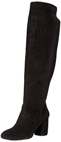 Nine-West-Womens-Kerianna-Knee-High-Boot-Black-Suede-8-Medium-US-0