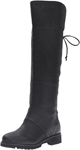 Nine-West-Womens-Mavira-Leather-Knee-High-Boot-Black-65-M-US-0