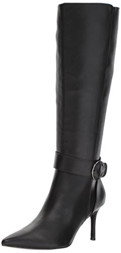 Nine-West-Womens-Moretalkn-Synthetic-Knee-High-Boot-Black-Synthetic-7-Medium-US-0