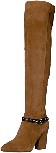Nine-West-Womens-Sandor-Knee-High-Boot-BrownBlack-Suede-10-Medium-US-0