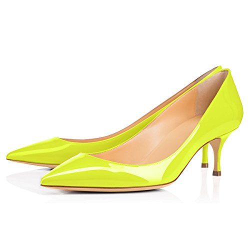 Onlymaker-Womens-Kitten-Heel-Sandals-Pointed-Toe-Large-Size-Dress-Party-Wedding-Office-Pumps-Shoes-Yellow-US-13-0-1