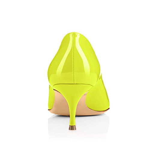 Onlymaker-Womens-Kitten-Heel-Sandals-Pointed-Toe-Large-Size-Dress-Party-Wedding-Office-Pumps-Shoes-Yellow-US-13-0-3