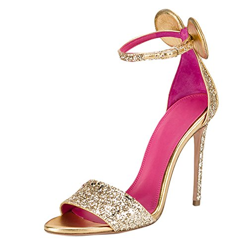Onlymaker-Womens-Open-Toe-Minnie-Decoration-Ankle-Strap-Pink-Insole-Stiletto-High-Heel-Sandals-Glitter-10-M-US-0