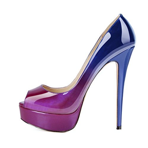 Onlymaker-Womens-Peep-Toe-Platform-Slip-on-Stiletto-Super-High-Heel-Pumps-Party-Dress-Shoes-Blue-To-Purple-95-M-US-0
