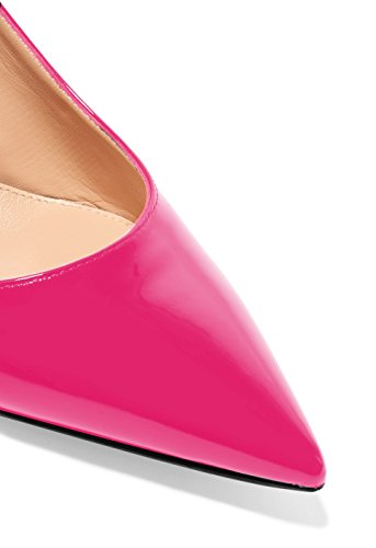 Soireelady-Womens-Suede-Pointed-Toe-Slingback-Pumps-Ankle-Strap-Kitten-Heels-Pumps-Evening-Stiletto-Shoes-65cm-Rose-US75-0-1