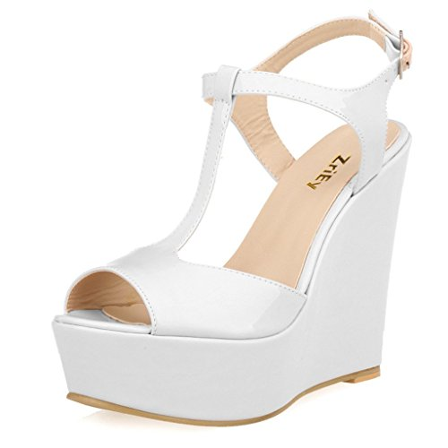 ZriEy-Womens-Gorgeous-Sexy-Peep-Toe-High-Heels-Platform-Wedge-Sandals-White-size-7538M-EU-0