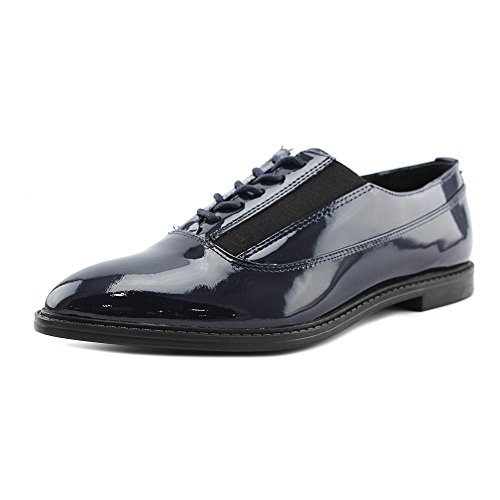 Calvin-Klein-Women-Wingtip-Toe-Patent-Leather-Blue-Oxford-0